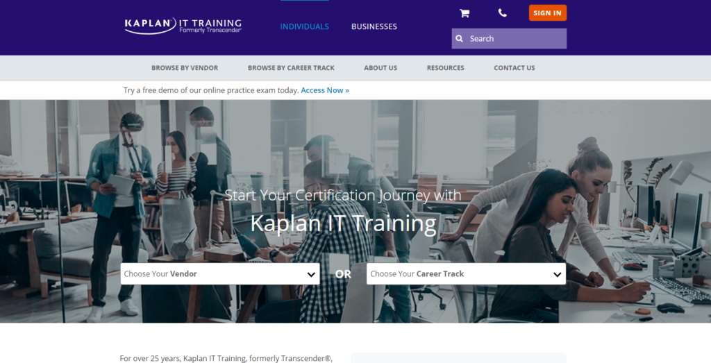 Kaplan IT Training 2020 review