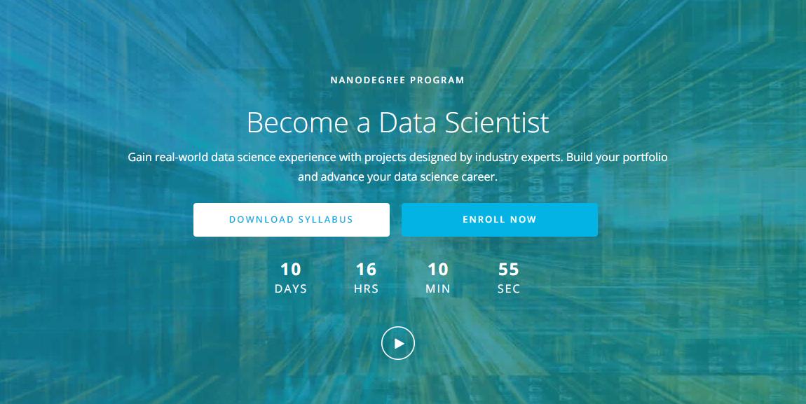 online data science nanodegree program