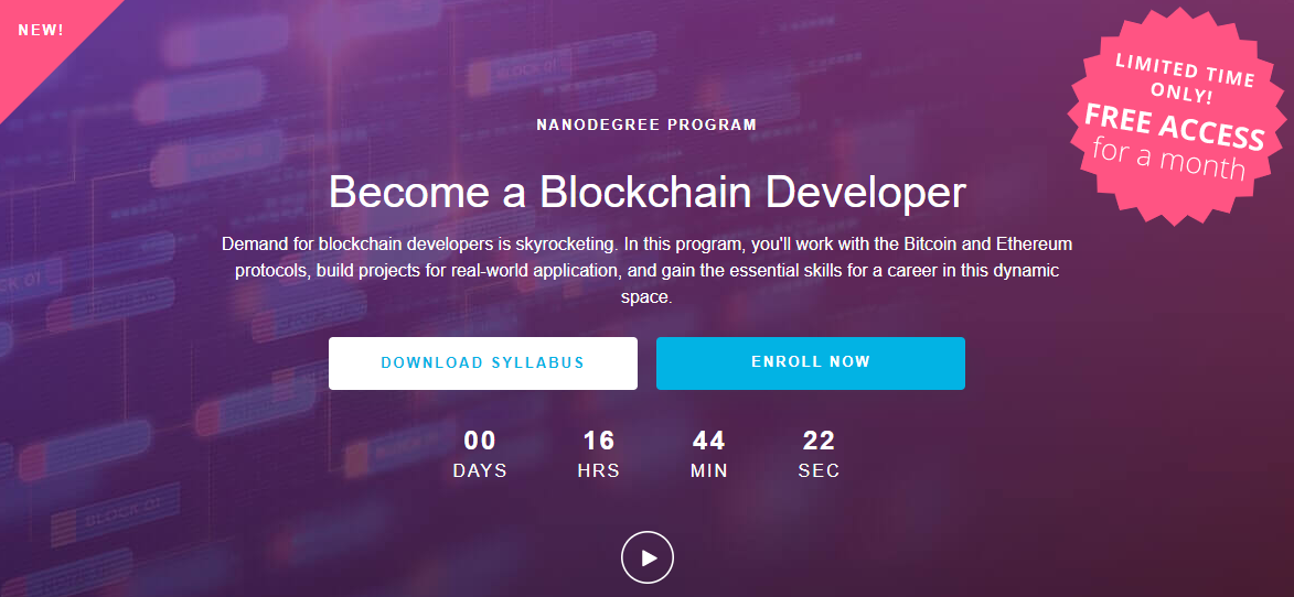 Blockchain Nanodegree program