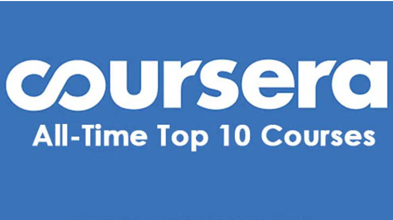 Top Ten Online Courses on Coursera