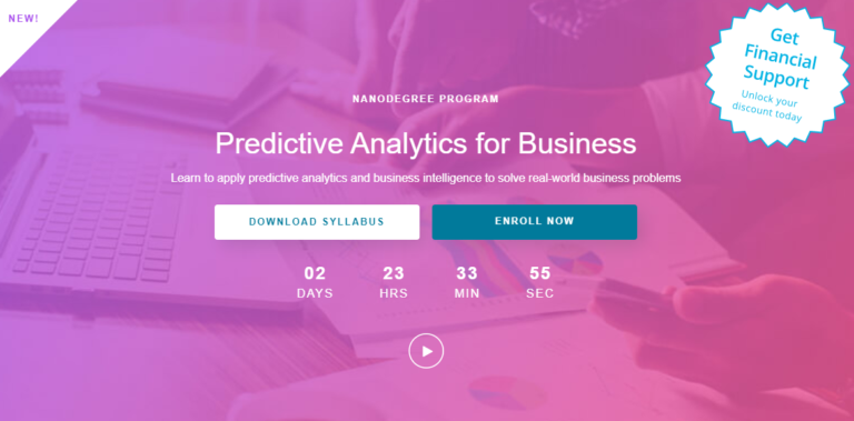 Predictive Analytics for business nanodegree review