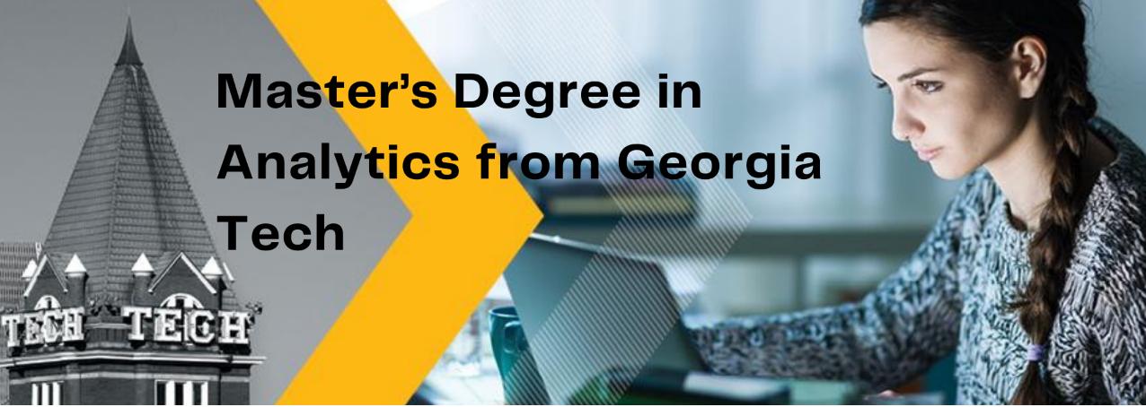 Georgia Tech Master's degree in analytics