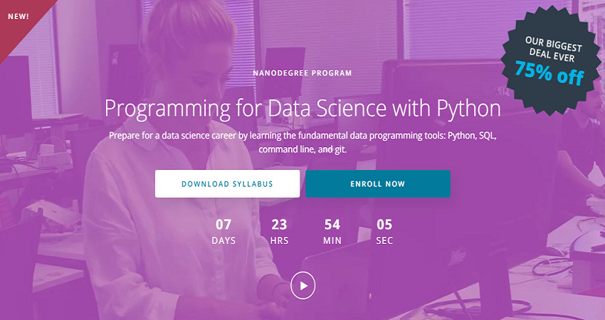 Udacity programming for data science with Python