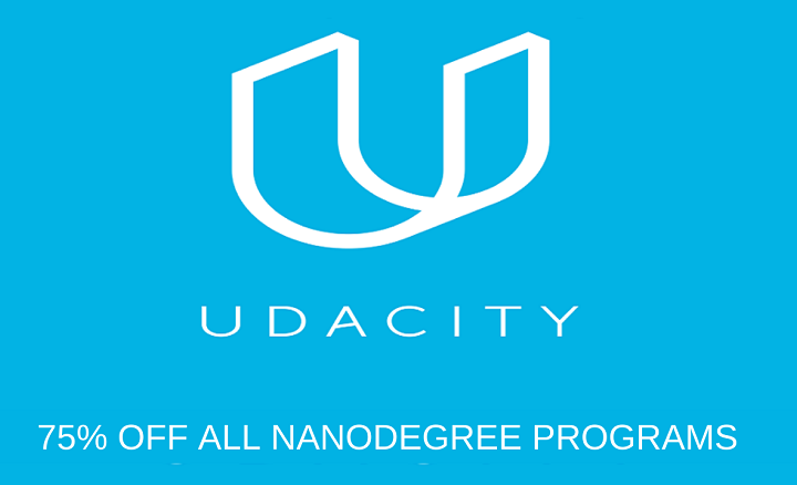 Udacity Offer: Get 75% Off Any Udacity Nanodegree Program with a Discount Code