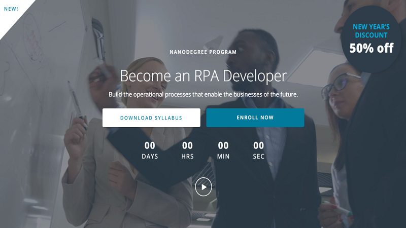 Udacity RPA Developer Nanodegree