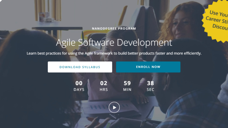 Is Udacity Agile Software Development Nanodegree Worth Your Time and Money?