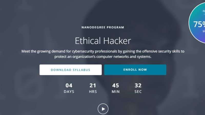 Udacity Ethical Hacker Nanodegree Review: Is it Worth it?